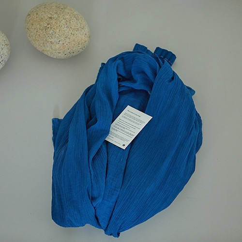 쪽잎 자연염색 가디건 ( Indigo Blue  Natural Fabric and Dye)